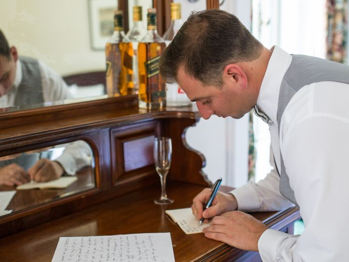 Tmx Groom Writing His Vows 51 1069627 1559525343 New York, NY wedding officiant