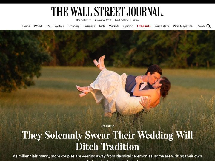 Tmx Wsj Vows Article Image 51 1069627 1565296363 New York, NY wedding officiant