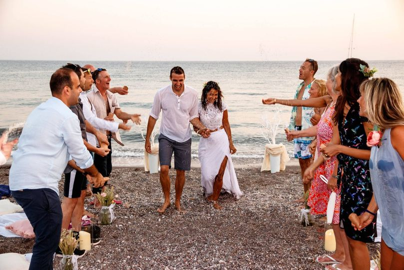 ECK - A Wedding Celebrant in Greece