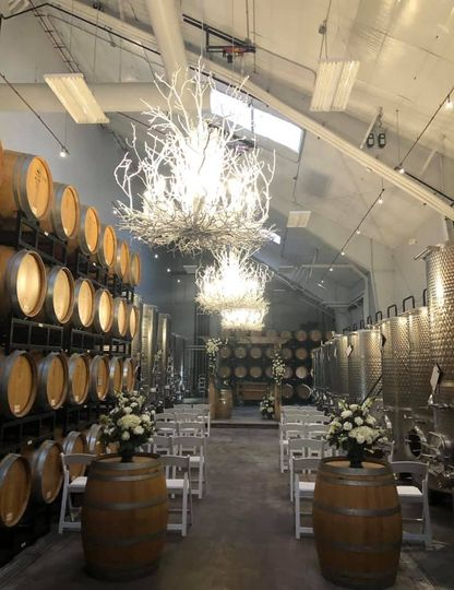Ceremony in the Barrel Room
