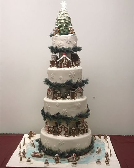 The pentagon cake