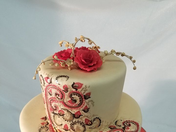 Tmx Indian Inspired Wedding Cake 51 1033727 Silver Spring, MD wedding cake