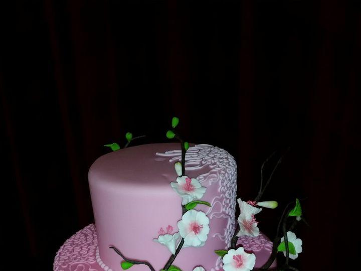 Tmx Pink Wedding Cake 51 1033727 Silver Spring, MD wedding cake