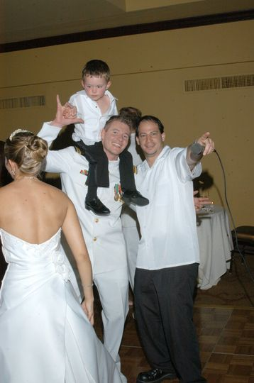 your Dj with the groom - happy times