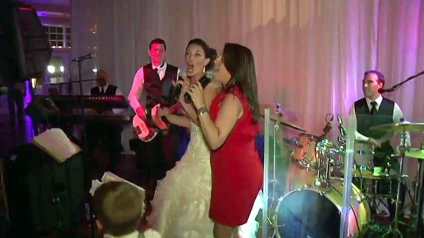 Bride with band!