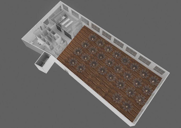 Boathouse Layout