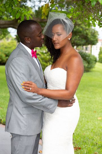 Bride & groom post wedding