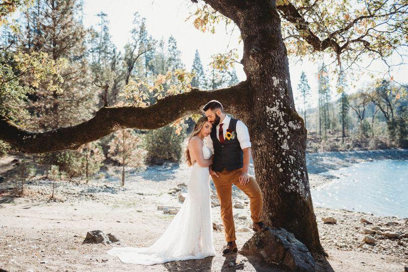 Bass lake california wedding