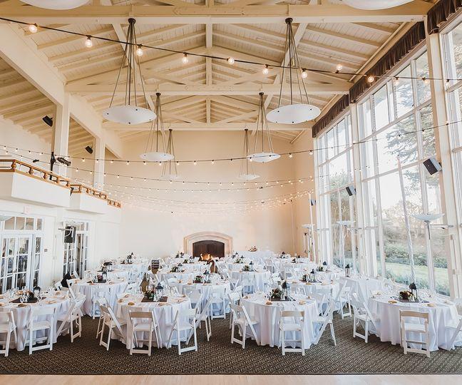 Grand indoor hall