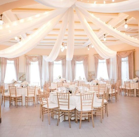 Pipe Dream Events will transform any outdoor or indoor venue into your fantasy wedding!!  Ceiling...