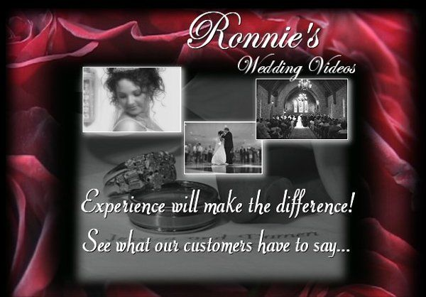Ronnie's Wedding Videos