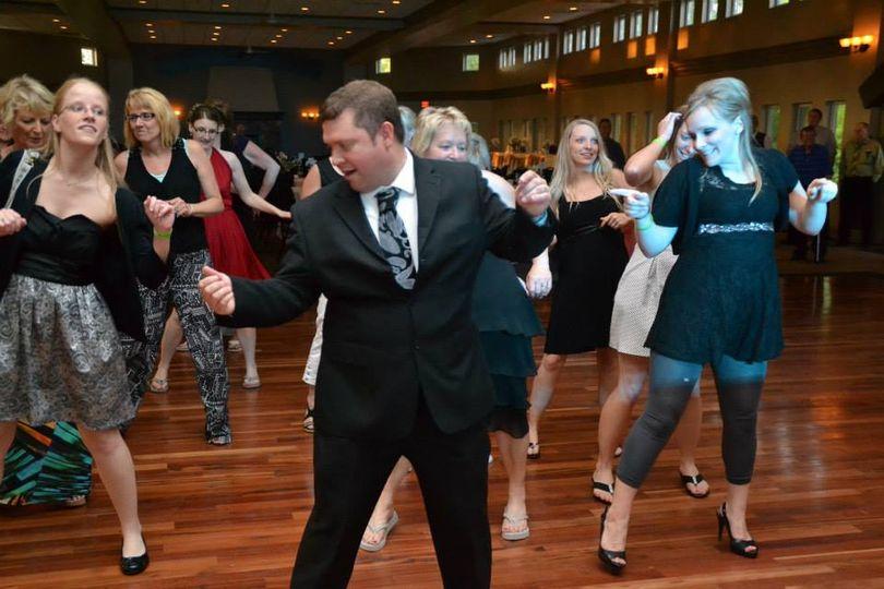 Michael leading line dances
