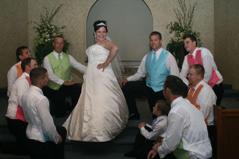 Reed Bride and Groomsmen