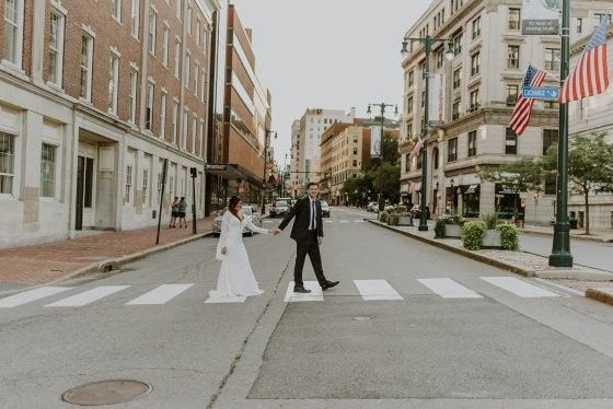 Tmx 1509554909153 Press Hotel Wedding Bride And Groom Portraits Down Portland wedding venue