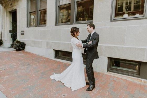 Tmx 1509554928811 Press Hotel Wedding First Look Portrait Portland wedding venue