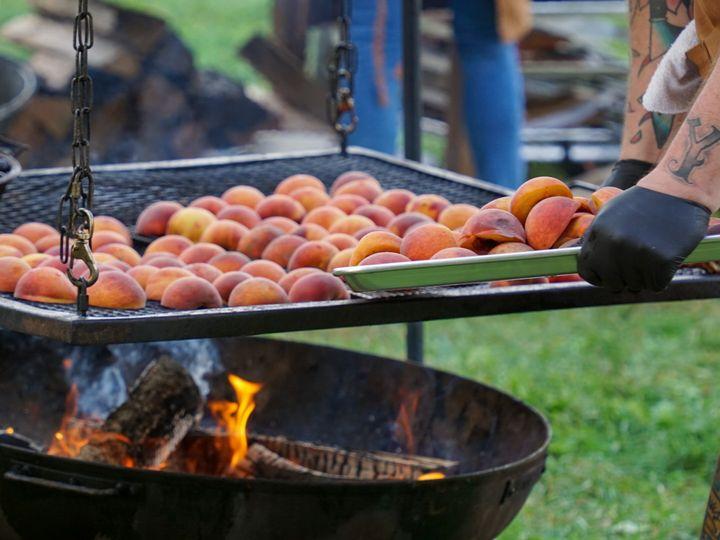 Tmx Chef Michelin Farm Local Fall Seasonal Organic Wood Fire Peach 51 1989727 160285803931668 Tarrytown, NY wedding catering
