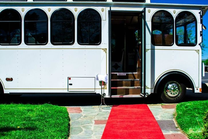 28 Passenger Trolley Red Carpet Service