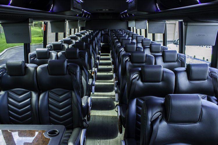 37 passenger Executive Shuttle Interior