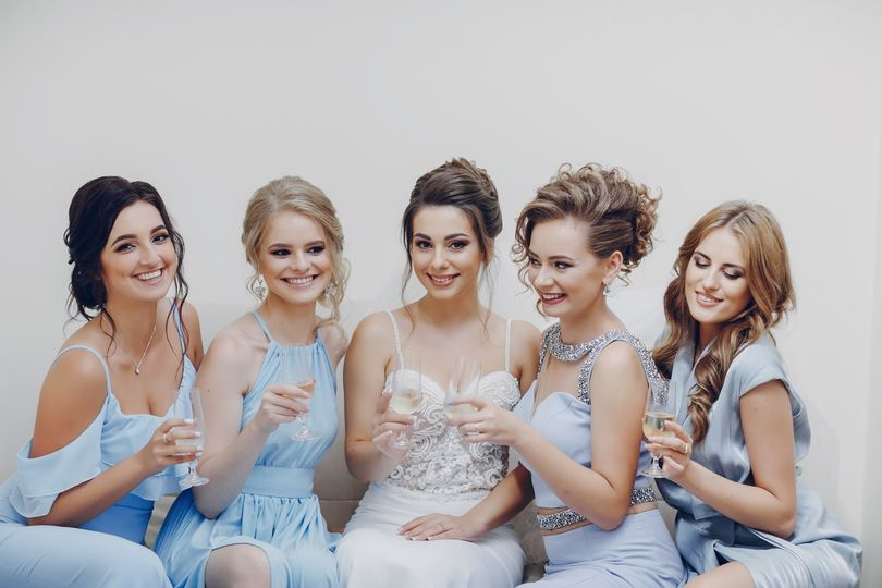 Bubbles and dress fittings