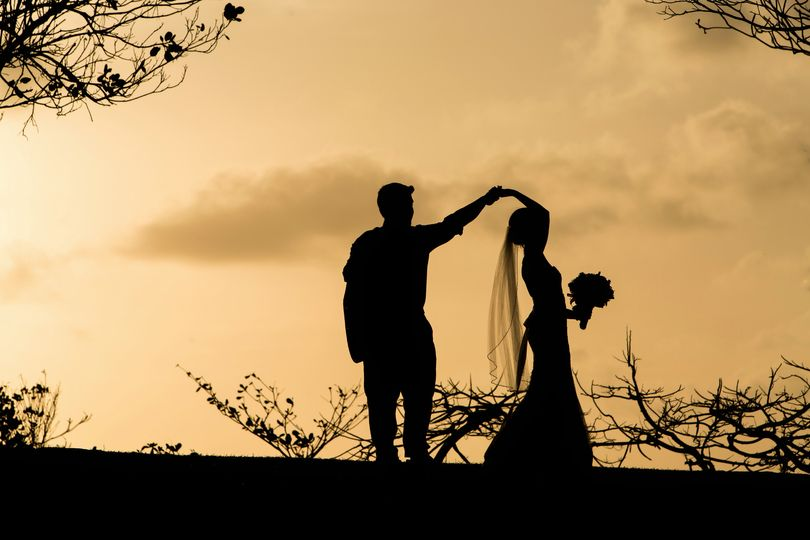 Sunset wedding Saint Lucia
