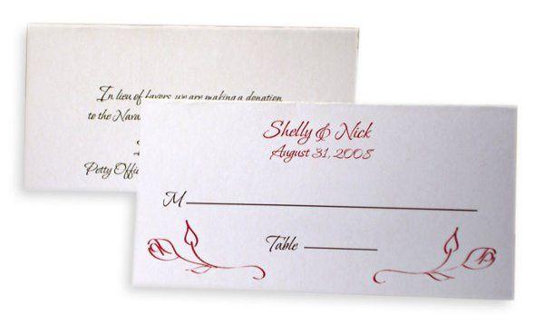 Tmx 1302193369536 RosePlcCrd Collegeville wedding invitation