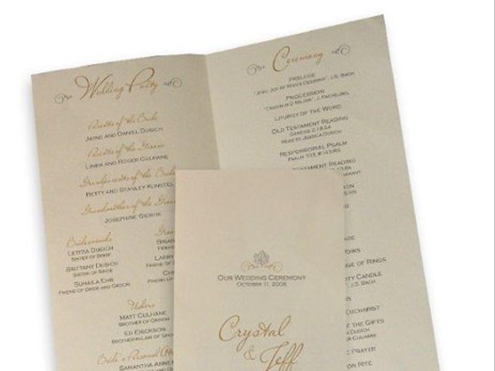 Tmx 1302193384317 Fallprogram Collegeville wedding invitation
