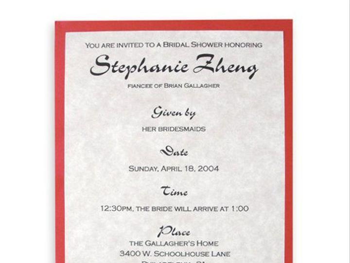 Tmx 1302193385989 DoubleHappiness Collegeville wedding invitation