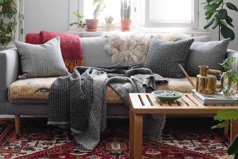 Cozy Scandinavian textiles