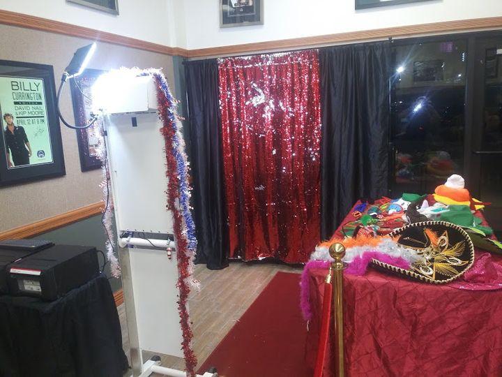 Hardrock Casino Photo Booth