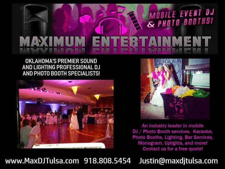 Tmx Adcopy 51 533827 Tulsa wedding dj