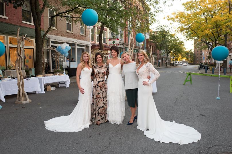 Bride to be with friends