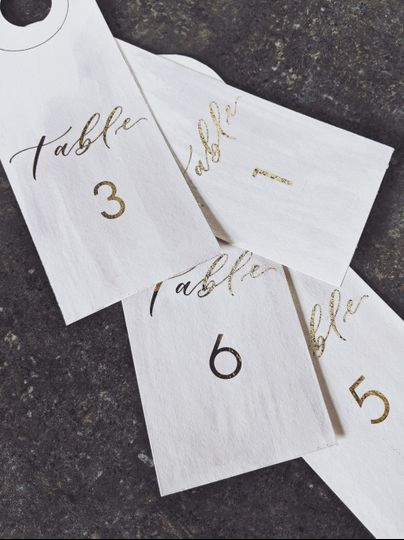 Gold/watercolor bottle tags