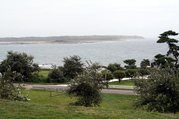 Avalon, View from front lawn towards Martha's Vineyard