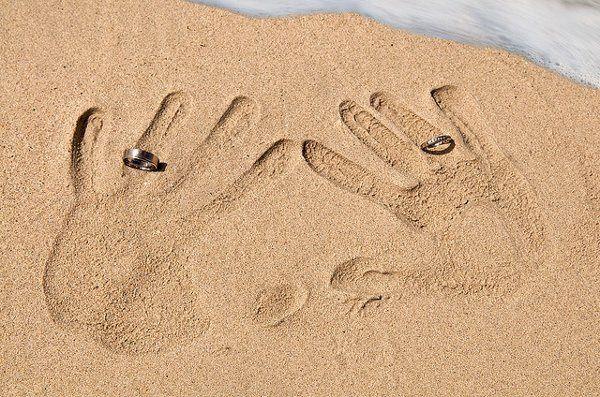 Rings on Beach
