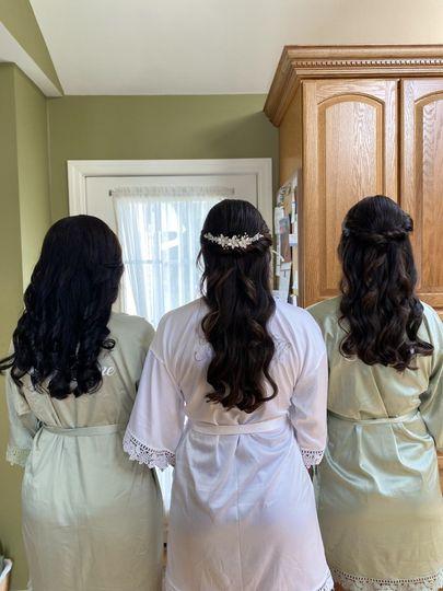 MOB, Bride & MOH
