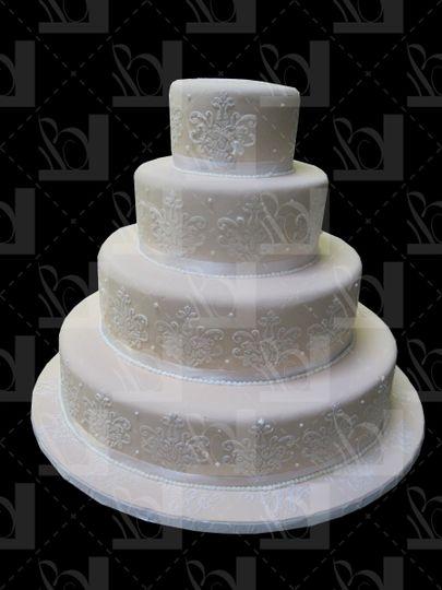 The round cake