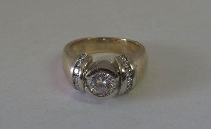Tmx 1374440156306 Diamondringcentered Boston wedding jewelry