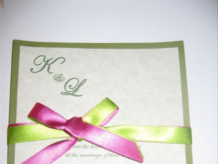 Tmx 1248235689353 IMG1981 Forest Hills wedding invitation