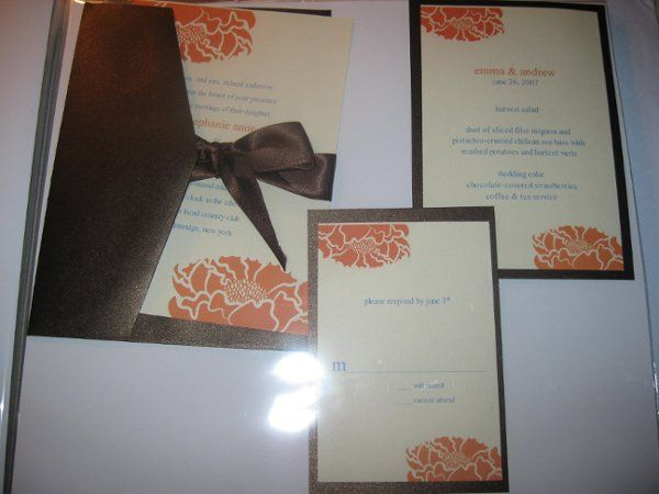 Tmx 1248236608915 IMG2006 Forest Hills wedding invitation