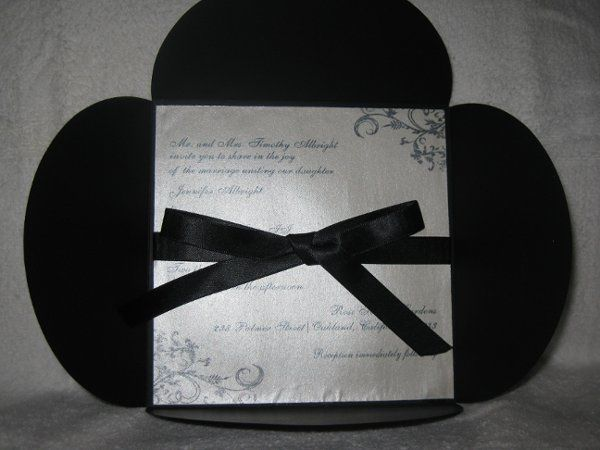 Tmx 1248313635406 IMG2111 Forest Hills wedding invitation