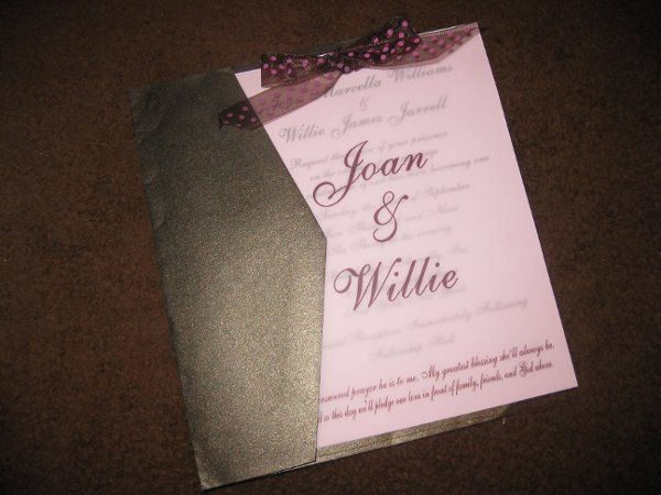 Tmx 1248314309702 IMG2157 Forest Hills wedding invitation