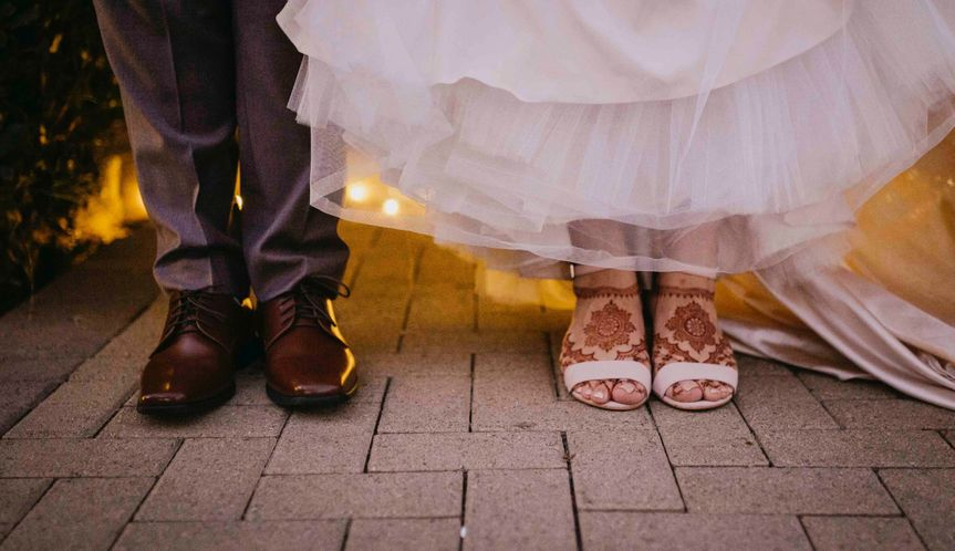 Bridal Henna Feet