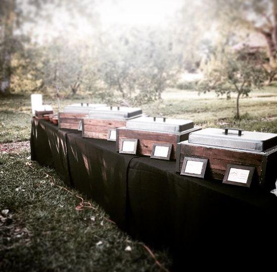 Outdoor Buffet Set-up