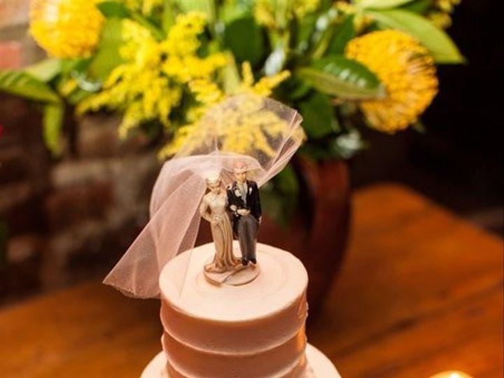 Tmx 1382561172911 Vintagetopperjpg568x678q85 Brooklyn wedding cake