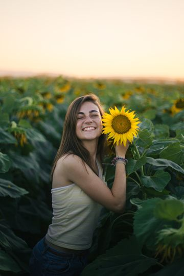 Love and sunflowers - Andy Woodward Photography