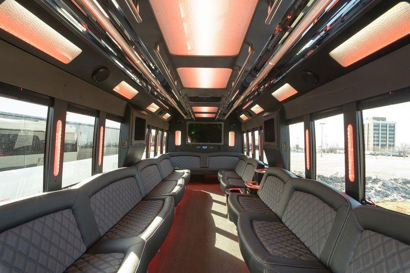 40 passenger interior