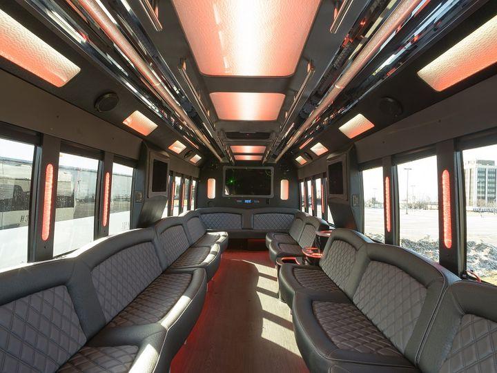 Tmx Bus 3 Interior 51 1010927 V2 Warren, MI wedding transportation