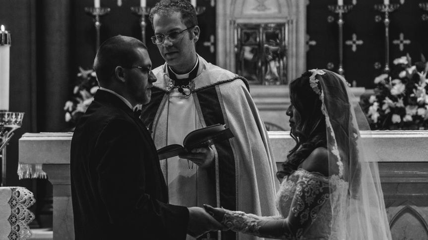 Exchanging their vows - DT Visuals