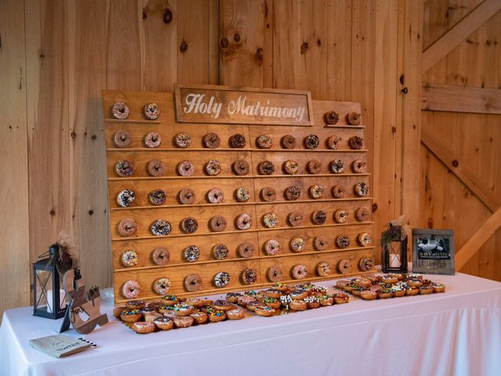 Tmx Donut Wall 51 950927 158393494199522 Gatlinburg, TN wedding venue