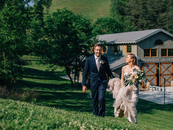 Tmx Walking Up Hill By Barn 51 950927 V1 Gatlinburg, TN wedding venue